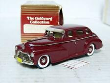 Goldvarg 2 1/43 1946 Chevrolet Stylemaster Handmade White Metal Model Car