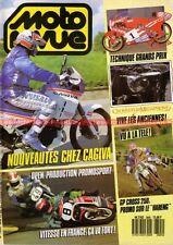 MOTO REVUE 2805 APRILIA 125 AF1 CAGIVA Cruiser FRECCIA Technique Grand Prix 1987