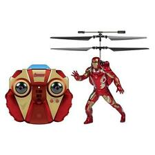 World Tech Toys 2096 Iron Man Red Helicopter 2PC Remote Control Superhero BHFO