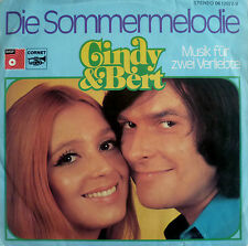 "7"" GRAND PRIX 1974 (GERMANY) CINDY & BERT : Die Sommermelodie /RARE!!"