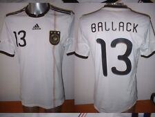 Germany BALLACK Adidas Adult L Football Soccer Shirt Jersey Trikot Deutschland 1