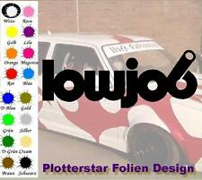 Lowjob low JDM Sticker Adhesivo OEM Power Fun like Shocker invierno
