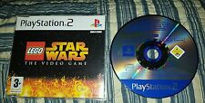 LEGO Star Wars ps2 video game RARE ODDITY!! see pics*PAL Demo. Only 1 on EBAY!!!
