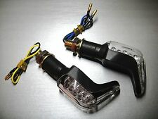 ►4X LED BLINKER MINI SHARK N YAMAHA VRSCA,R1-Z,RD 250 (522),RD 250 D,MX 360,FZ1