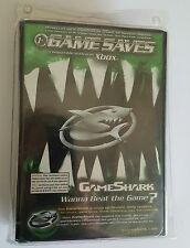 NEW Game Shark USB Game Saves for the Original XBOX System With Hard shell case