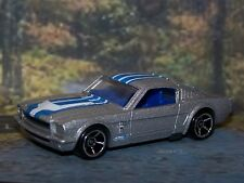 VHTF Hot Wheels 1965 Ford Mustang 2 + 2 Fastback CHROME RIMS package fresh  B