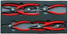 Knipex 6pc Snap Ring Plier Set Internal External Circlip 002001V02 in Foam Tray