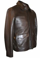 "Indiana Jones Raiders Of Lost Ark Chaqueta ""auténtico Cordero 'por Wested Leather"