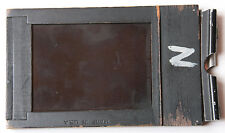 "Cut Film Holder 2.25 x 3.25"" Sheet Film Holder - Wood Burke James - USED D46B"