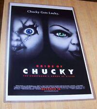 Bride of Chucky 11X17 Horror Movie Poster Tiffany