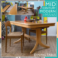 Fresh vintage mid century modern Danish Dining table table LudovicGrossard panton affirmés