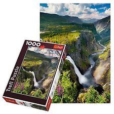Trefl 1000 Piezas Adulto Grande voringsfossen Cascada Noruega Rompecabezas De Piso