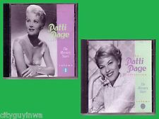 PATTI PAGE Collection Mercury Years Volume 1 & 2 CD Lot Anthology 50s Pop Hits