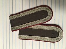East German STASI Lance Corporal Shoulder Boards  NVA/ DDR/ GDR
