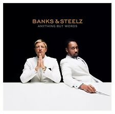 BANKS & STEELZ - ANYTHING BUT WORDS   CD NEU