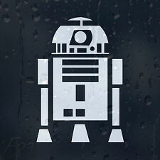 Robot R2 D2 Droid Star Wars Car Decal Vinyl Sticker For Window Bumper or Panel