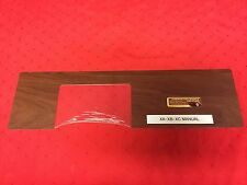 FORD FALCON XA XB GT MANUAL WOODGRAIN CONSOLE INSERT CONCOURS