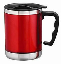 Stainless Steel Insulated Coffee Tea Water Travel Mug Cup with Sipper Lid