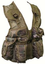 Kids Camouflage Assault Vest Childrens MTP/HC/BTP Camo Action Vest Army Forces