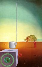 Salvador Dali,Giant Flying Demi-Tasse Incomprehe,1976,OFFSET LITHOGRAPH UNSIGNED