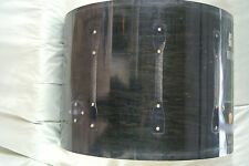 """1996 Ludwig 22"""" SUPER CLASSIC BASS DRUM SHELL CHARCOAL SHADOW for YOUR SET! #A71"""