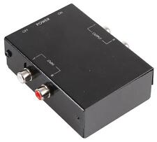 PHONO PREAMP STEREO TURNTABLE RCA PRE AMPLIFIER TO LINE LEVEL AMP RIAA EQ
