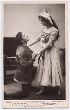 Lewis Waller & Evelyn Millard vintage Theatre Actor Real Photo Postcard