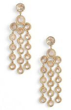Kate Spade Subtle Sparkle Chandelier Earrings, Clear/Gold, NWT $88
