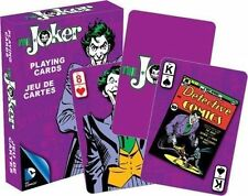 THE JOKER RETRO - PLAYING CARD DECK - 52 CARDS NEW - BATMAN VILLAIN 52302