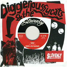 "DIGGER & THE PUSSYCATS 'Night of Two Moons 7"" Magnetix Scientists Eddy Current"