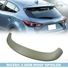 Painted Mazda3 5DR Hatchback OE TYPE Tail Rear Roof Trunk Spoiler Wing  ●