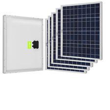 250W Solar Panel (5x 50W Panels)