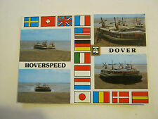 Hoverspeed Dover hovercraft Post Card unknown era (GS19-38)