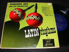 10 inch Latin Jazz Dance LP EDMUNDO ROS London Issue LATIN RHYTHMS 1950 Mambo!
