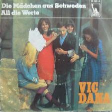 """7"""" 1969 RARE ! VIC DANA Die Mädchen aus Schweden MINT-?"""