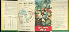 Brochure - Brazil Vegetable Oils - NYWF 1939 Graph & Graphics