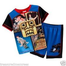 2 Piece Komar Kids Temple Run Pajamas Top and Shorts Set ~ Size Small (6/7) ~NWT