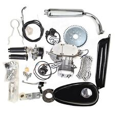 80cc 2-Stroke Engine Motor Kit for Gas Powered Motorcycle Motorized Bicycle Bike