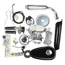 80cc Motorized Bicycle Bike Gas Powered Motorcycle 2-Stroke Engine Motor Kit