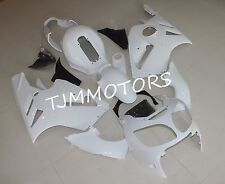 Unpainted ABS Injection Bodywork Fairing Kit for KAWASAKI ZX12R 2000-2001 Raw