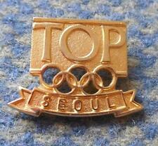 OLYMPIC SEOUL 1988 TOP PARTNER PIN BADGE