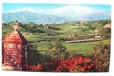 Vintage 1960's Winter SOUTHERN CALIFORNIA Old Baldy  Photo Postcard