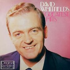 CD DAVID WHITFIELD GREATEST HITS CARA MIA I BELIEVE CRY MY HEART ANSWER ME ETC