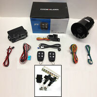 NEW Remote Car Alarm Keyless Entry+2 Door CABLE STYLE Power Lock Conversion Kit