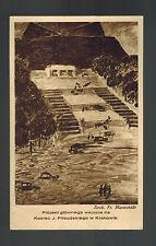 1935 Krakow Poland Registered cover to Warsaw Pilsudski Committee Monument