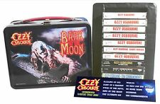 OZZY OSBOURNE - Lot of 10 used cassettes in lunch box (black sabbath, metallica)
