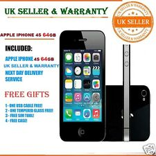 Apple iPhone 4s 64GB Negro (Desbloqueado) en buen estado smartphoneb ++++ Regalos Gratis