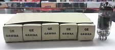 Sleeve of five GE JAN military  6AW8A Vacuum Tubes NOS