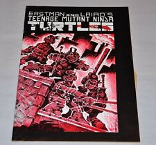 Teenage Mutant Ninja Turtles 1 Mirage 2nd Print 1984 TMNT