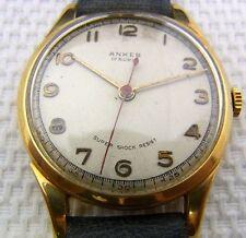 Eine schöne Armbanduhr.  Marke : Anker  Material : 585/- Gold